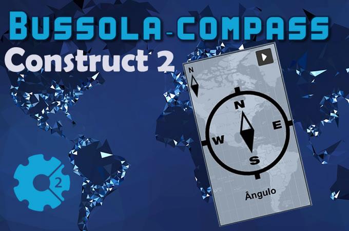 como criar uma bússola em construct 2 - compass
