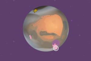 Cenário game gravidade em planeta construct 2