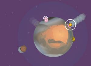 Gravidade em meteoro game construct 2