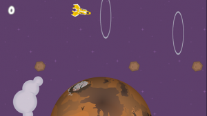 tela game gravidade