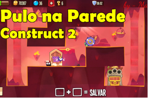 construct 2 tutorial pulo na parede - wall jump